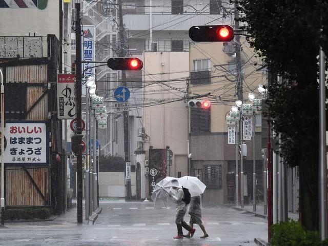 Japan advises 5 million people to evacuate homes as typhoon nears Tokyo