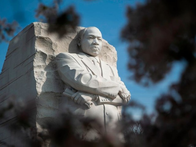 National Parks are free today in honor of Martin Luther King, Jr's birthday
