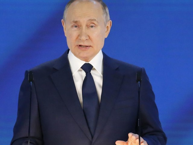 In annual address, Putin warns Russia's foes will be sorry