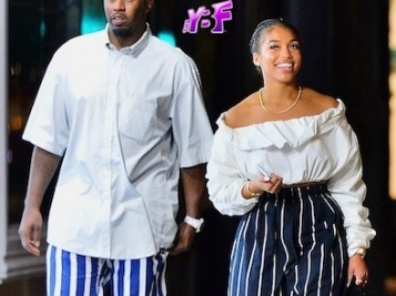 They're A COUPLE Couple! Diddy & Lori Harvey Rock Matching Outfits On A Date In NYC