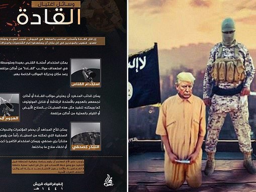 ISIS reveals guide to killing world leaders - telling lone wolf jihadis to pretend to be journalists