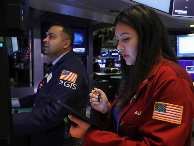 Stocks end week of milestones at new highs; Dow tops 28,000
