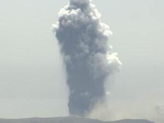 Philippine volcano erupts, sends ash to Manila