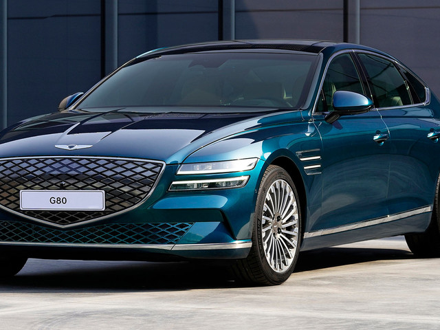 2022 Genesis Electrified G80 Has 365 HP And Up To 310 Miles Of Range