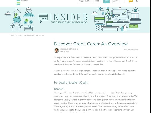 Discover Credit Cards: An Overview