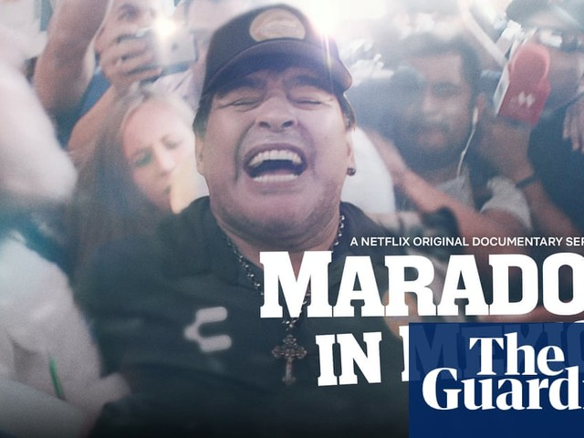 'Maradona in Mexico': watch a trailer for the new Netflix series – video