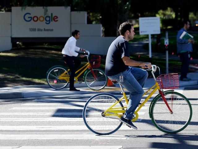 Google touches record highs as FANG stocks stage broad rally