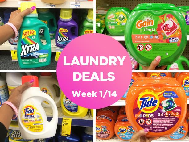Laundry Deals Roundup (Week 1/14-1/20)