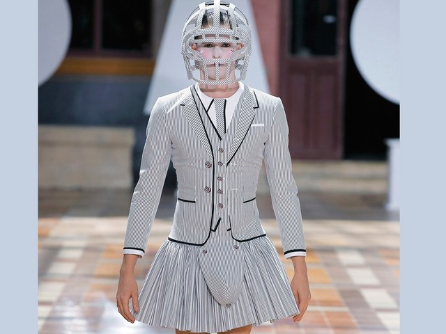 Thom Browne teases collaboration with Samsung
