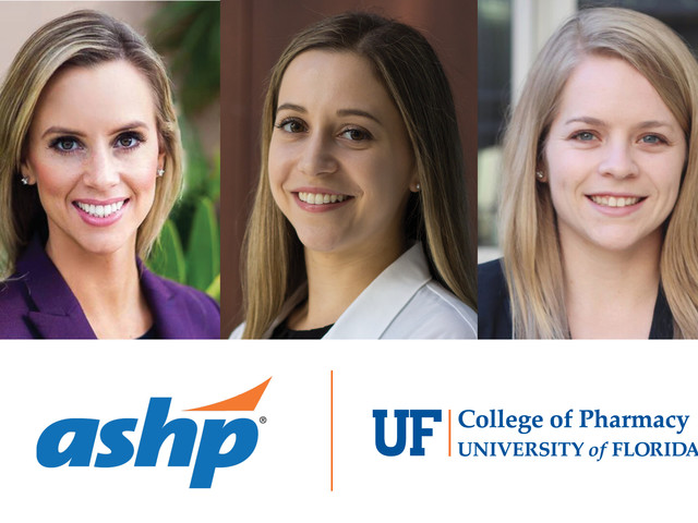 Three Pharm.D. students appointed to national ASHP advisory groups