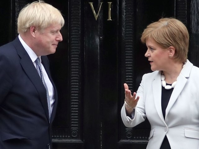A new poll shows Scotland would vote for independence just weeks after Boris Johnson became prime minister