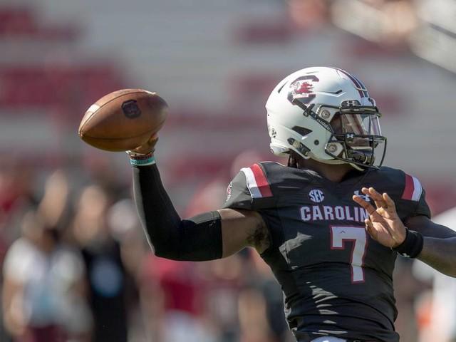 Dakereon Joyner makes his debut for South Carolina