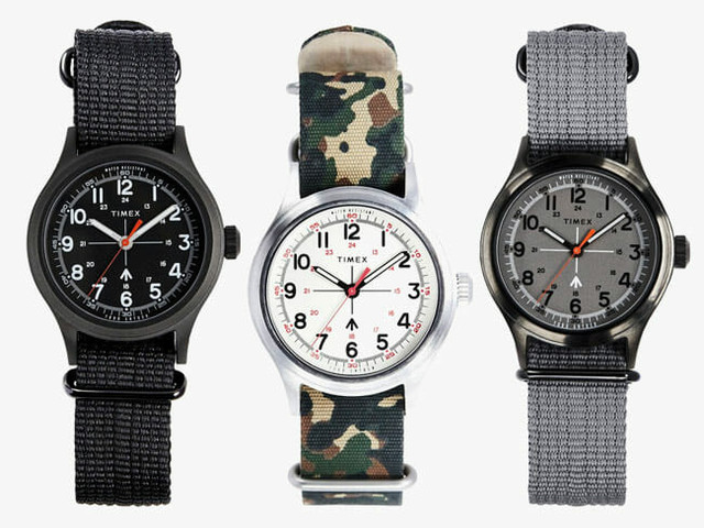 Save 40% On These Retro-Styled Todd Snyder x Timex Watches