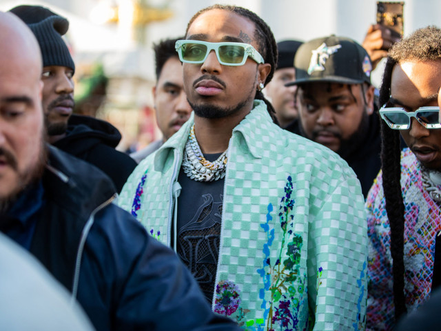 Video shows Migos rapper Quavo throwing punches at Paris Fashion Week party