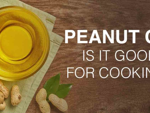 Peanut oil: Is it good for cooking?