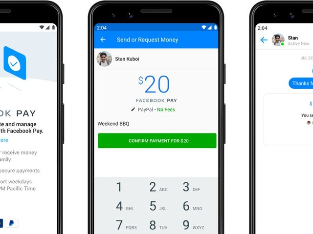 Facebook's new payment service will let you send money without fees across Facebook, Instagram, WhatsApp, and Messenger (FB)