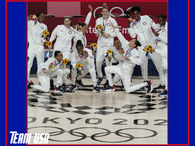 Team USA Women's B'Ball Hoops It Up To Win 7th Straight Olympic Gold Medal!