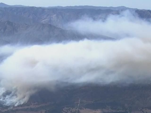 Evacuations, Road Closures Lifted Monday Night As Crews Work To Contain Casitas Fire Burning Near Ojai