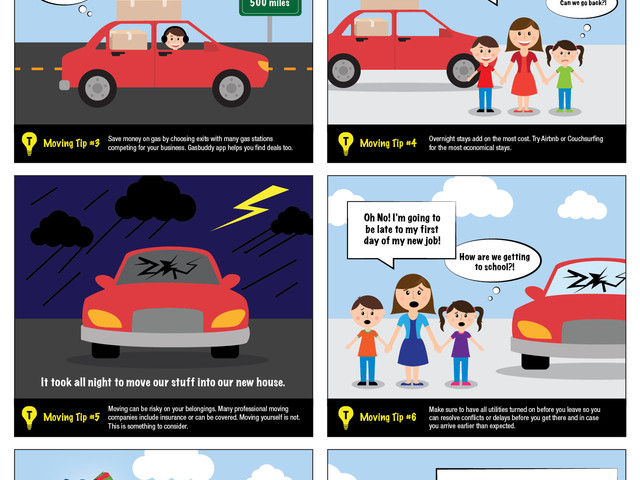 TitleMax Comic Strips & Helpful Tips – MAX SAVES THE DAY!