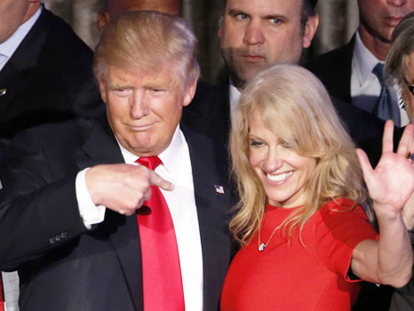 Trump Accuses Kellyanne Conway Of Doing 'Bad Things' To His Critic & Her Husband, George