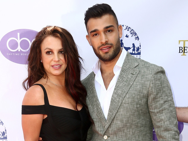Britney Spears Supports Boyfriend Sam Asghari at Daytime Beauty Awards