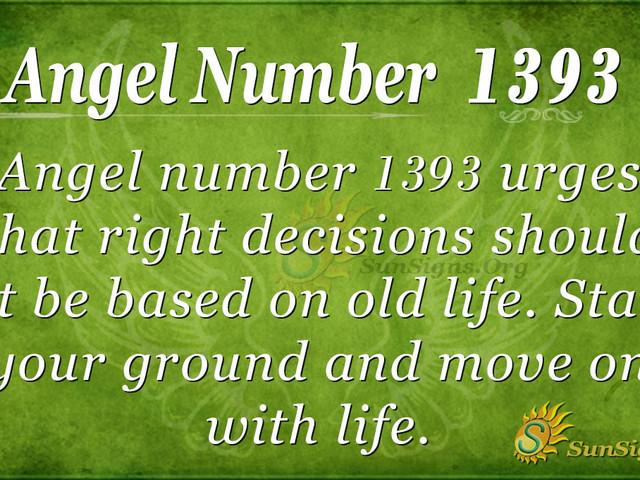 Angel Number 1393 Meaning: Have A Positive Mindset