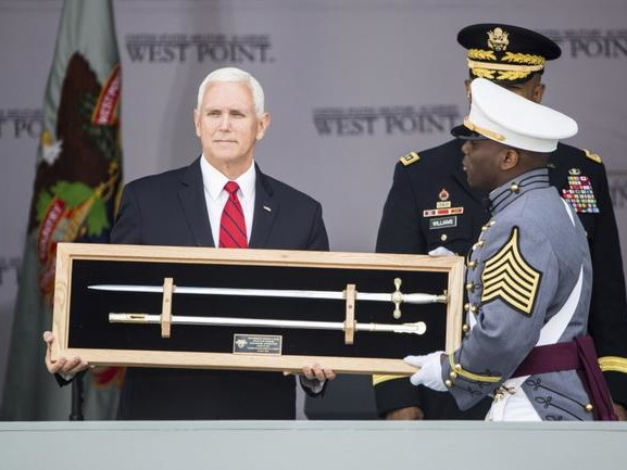 The Pence Prophecy: VP Predicts Perpetual War At West Point Graduation