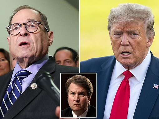 House Judiciary Committee is too busy 'impeaching the president' to investigate Brett Kavanaugh