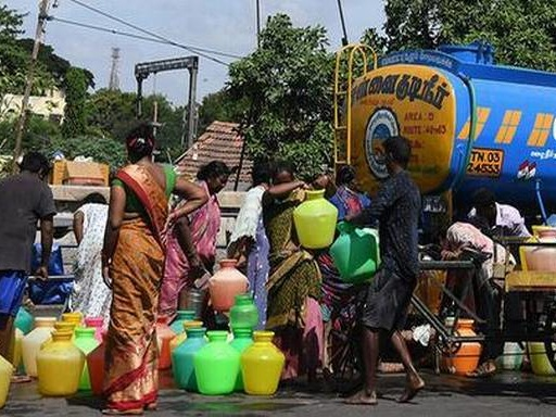 Water from Jolarpet to hit Chennai in two weeks