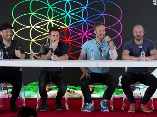 Coldplay: No More Tours Until They're Green-Friendly