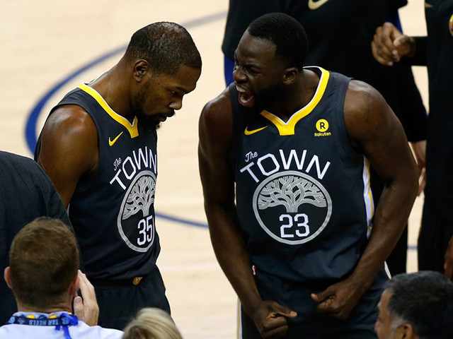 Warriors Suspend Draymond Green Without Pay After Fight With Kevin Durant
