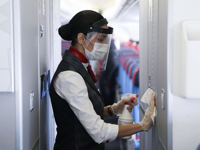 What It's Really Like To Be A Flight Attendant During COVID