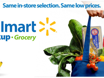 Walmart Grocery Pickup Coupon: $10 off any $50 purchase!