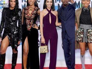 Here's The 2017 AMAs RED CARPET RUNDOWN! Ciara, Kelly Rowland, Yara Shahidi, Kehlani & More