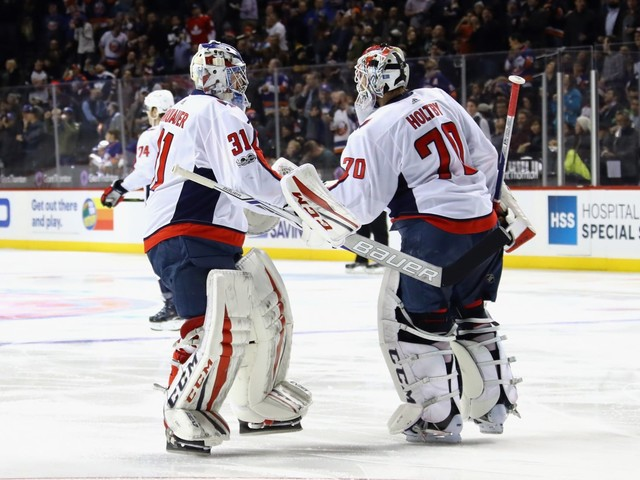 Capitals fall, 3-1, to Islanders as winning streak ends at four
