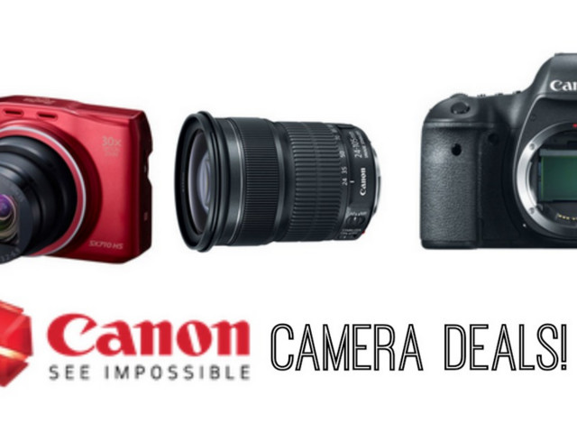 Canon Pre-Black Friday Sale   Cameras, Printers + More