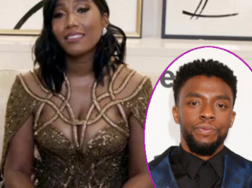 Chadwick Boseman Wins Best Actor Golden Globe, The Kiddies & His Wife Leave Us All In Tears Following Super Emotional Acceptance Speech