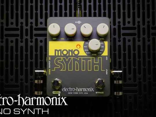 Your Guitar Can Be A Monosynth