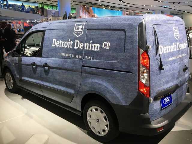 Detroit Denim sews up exposure at auto show