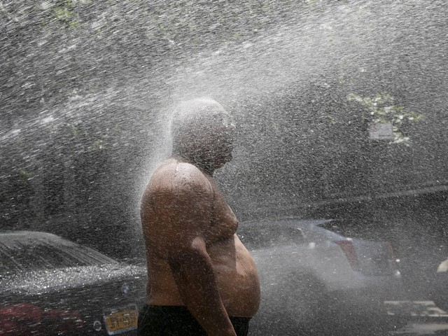 A triple whammy has left many U.S. city neighborhoods highly vulnerable to soaring temperatures