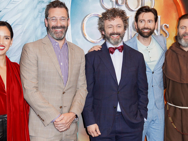John Hamm & 'Good Omens' Cast Celebrate Premiere in NYC!