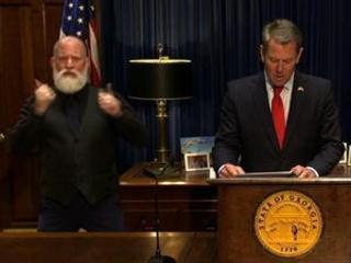 Georgia governor certifies electors for Biden