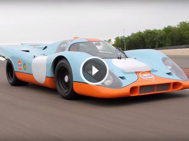 Steve McQueen's Porsche 917 That Starred In Le Mans Heading To Auction