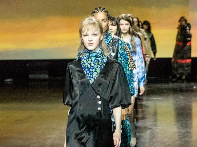 "Ganni Criticized For ""Tone-Deaf"" Copenhagen Fashion Week Show"
