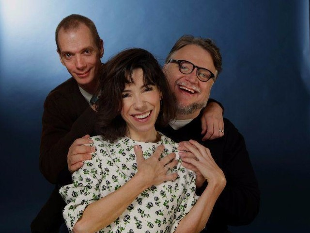 Sally Hawkins, Doug Jones and Guillermo del Toro talk about the strange romance at the heart of 'The Shape of Water'