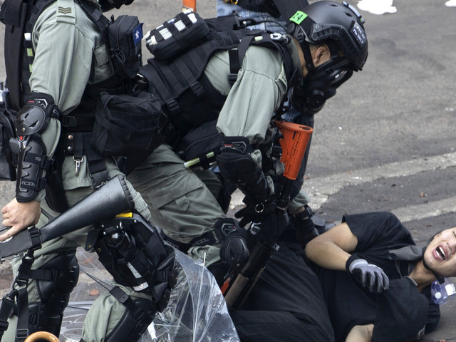 Protesters try to leave Hong Kong campus but avoid arrest