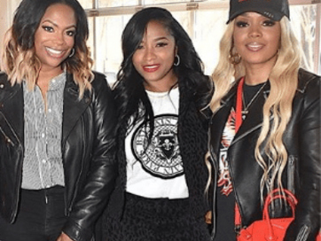 'Ain't Nobody Badder Than This Clique': Kandi Burruss and Celeb Friends Glam it Up in Group Pic