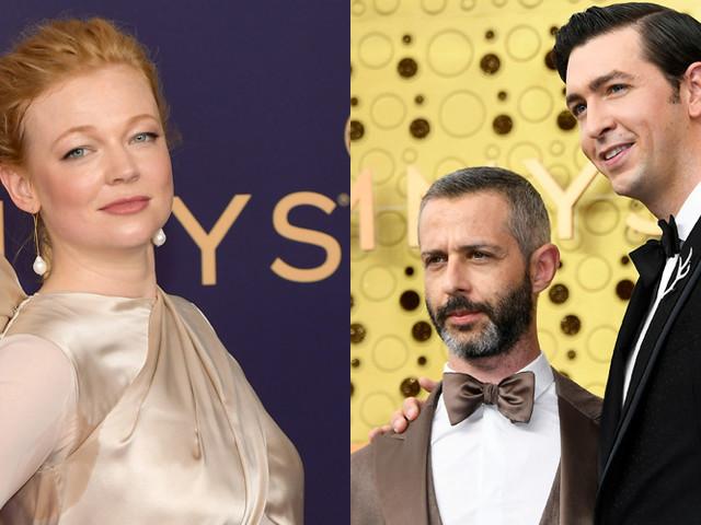 Succession's Sarah Snook & Nicholas Braun Join Cast at Emmy Awards 2019