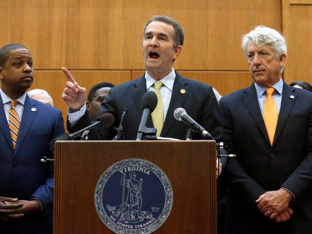 Virginia Governor Announces Special Session on Gun Control