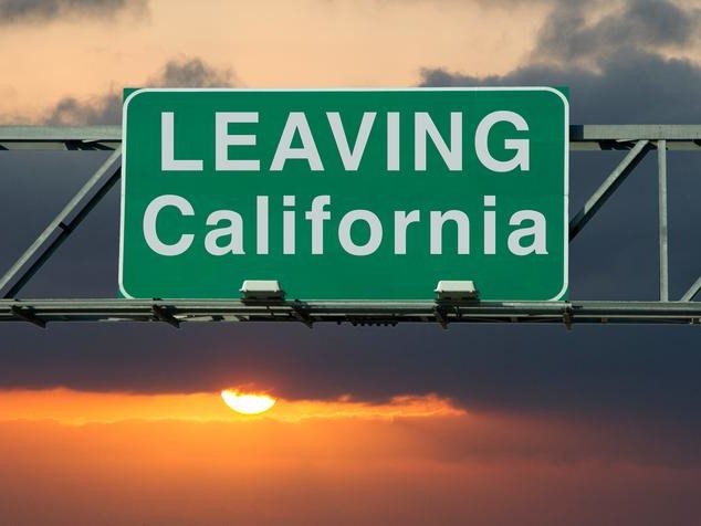 "On Leaving California: ""I've Watched Grown Adults Dress Up As Vaginas & Parade The Streets"""